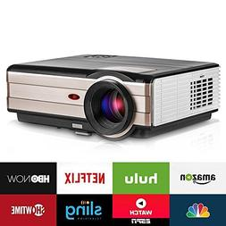 Video Projector, 3500 Lumens Wireless WiFi Home Theater Cine