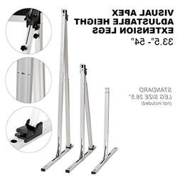 Visual Apex Projector Screens Adjustable Height Extension St