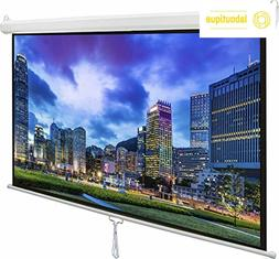 "VIVO 80"" Projector Screen, 80 inch Diagonal 16:9 Projection"
