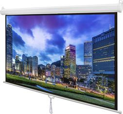 "VIVO 80"" and 100"" Projector Screen, 80 / 100 inch Diagonal 1"
