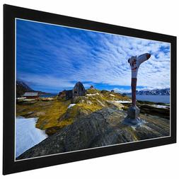 """Wall Mount 100"""" IN Projector Projection Screen HD High Defin"""